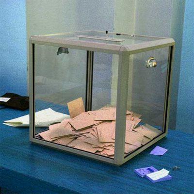 Mode de scrutin et résultat des élections